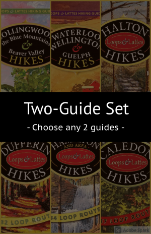 Loops & Lattes Hiking Guides – 2 Guide Set
