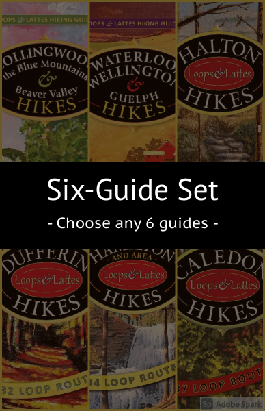 Loops & Lattes Hiking Guides – 6 Guide Set