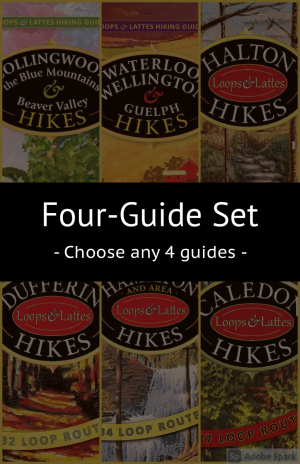 Loops & Lattes Hiking Guides – 4 Guide Set